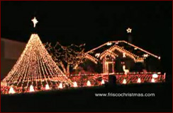 Frisco Christmas Lights