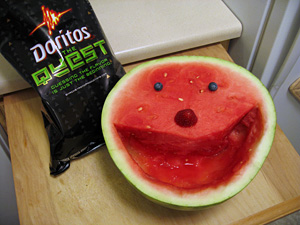 Mr. Watermelon with Doritos: The Quest
