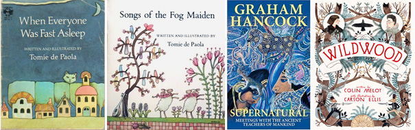 Magical books I read in October 2011