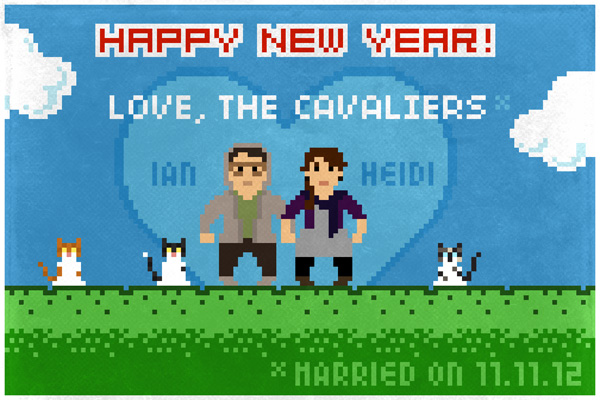 Cavalier holiday card 2012