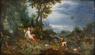 An Allegory of Water by Jan Brueghel