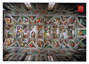 Sistine Chapel, Vatican City postcard