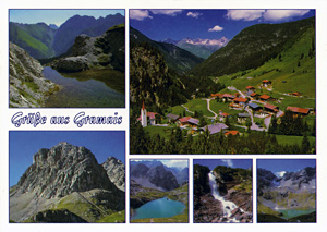 Tyrol, Austria postcard