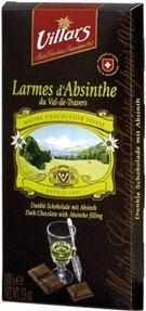 Villars Larmes d'Absinthe dark chocolate